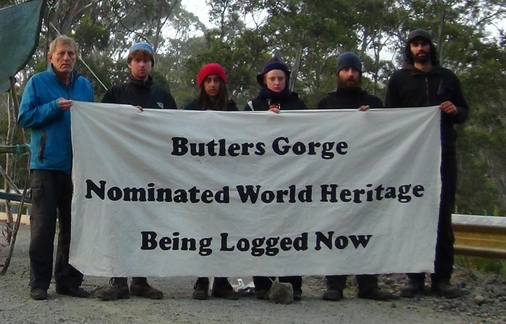 Butlers Gorge Banner  1